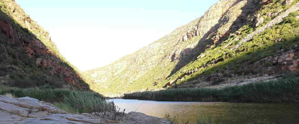 Calitzdorp view of river