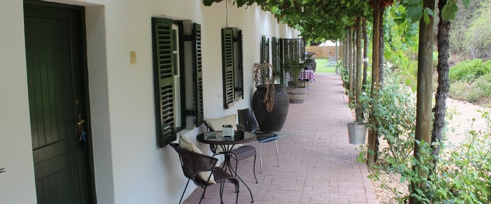 Soeterus Guest Farm accommodation Calitzdorp